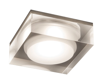 Astro Vancouver 90 Square LED Bathroom Downlight, Polished Chrome - SALE-5698