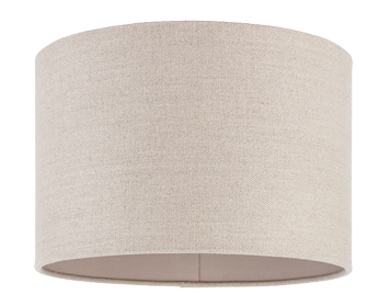 Endon Obi Cylinder Shade (300mm), Natural Linen Finish - SALE-69331