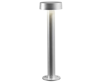 Konstsmide Pesaro LED Outdoor Post Light, Aluminium Finish - SALE-7910-310