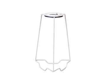Endon Shade Carrier, 7 Inch Accessory - Matt White Paint - SC-7