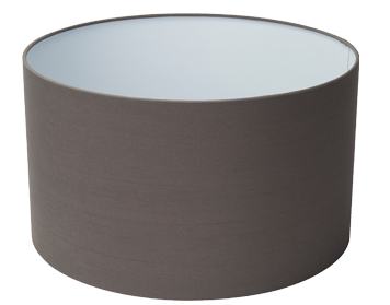 Searchlight 400mm Grey Drum Shade - SO1101GY