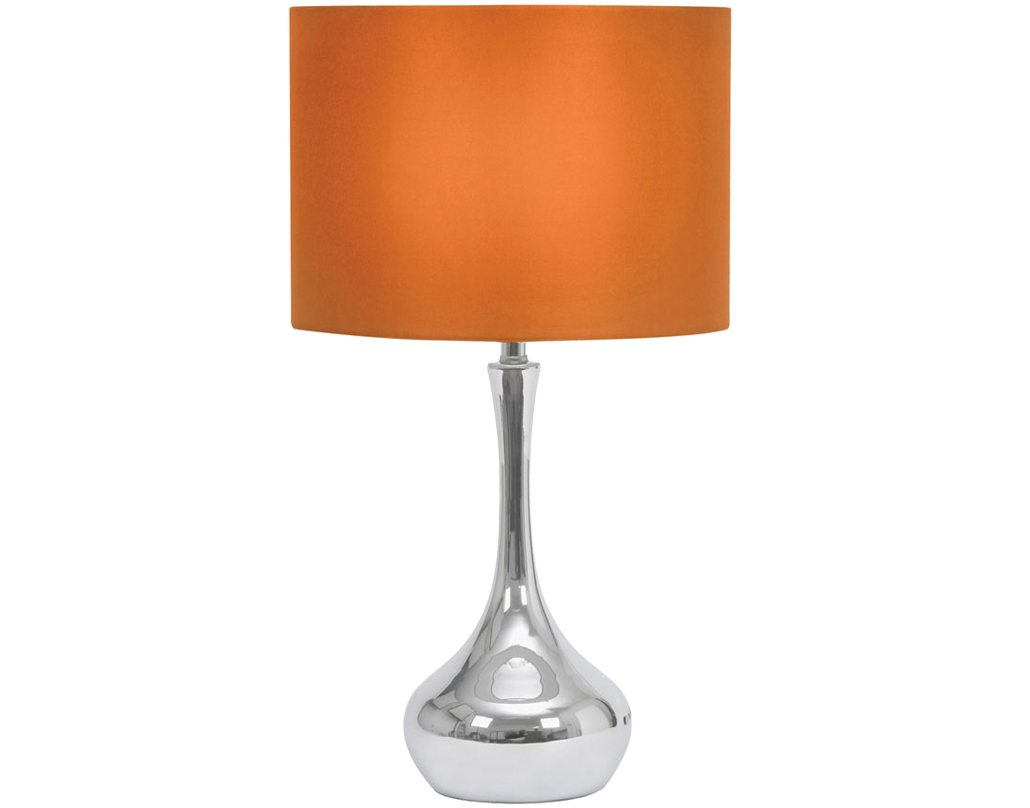 Touch operated table lamps from easy lighting oaks lighting juno touch table lamp orange tl 101 or mozeypictures Choice Image