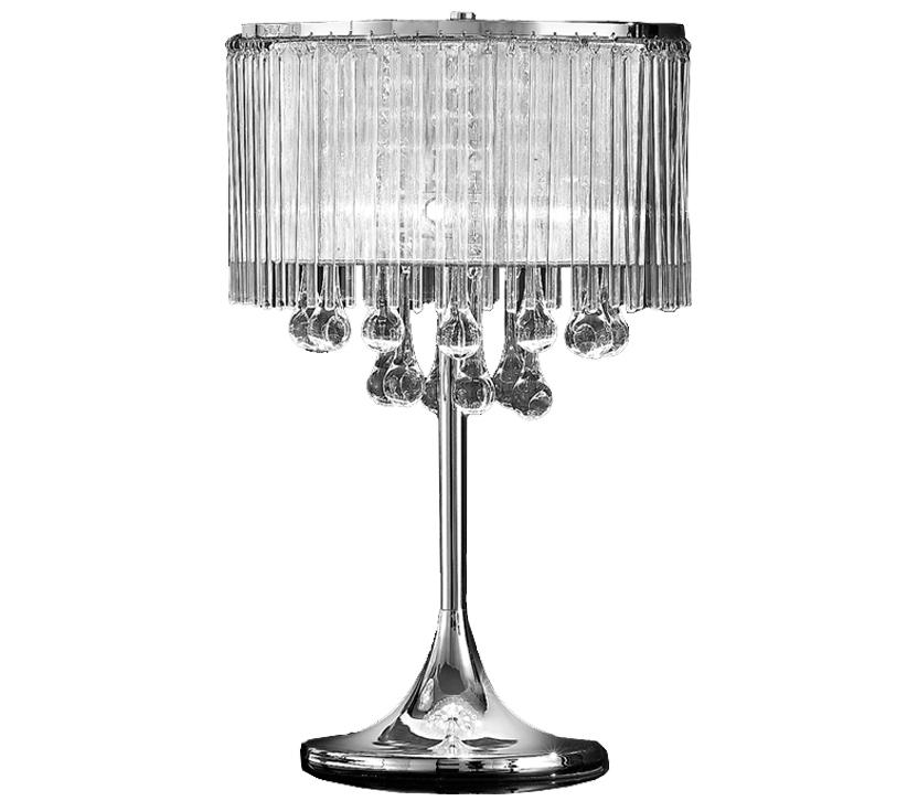 Franklite spirit 3 light table lamp chrome finish with crystal franklite spirit 3 light table lamp chrome finish with crystal glass drops tl853 mozeypictures Choice Image