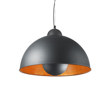 Azzardo Toma Ceiling Pendant, Black Finish - AZ2376