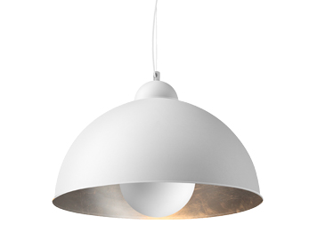 Azzardo Toma Ceiling Pendant, White Finish - AZ2377