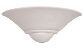 Endon Unglazed Paintable Wall Uplighter - UG-WB-7