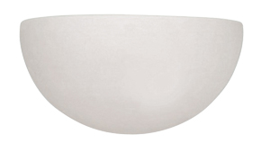 Endon Unglazed Paintable Wall Uplighter  - UG-WB-A