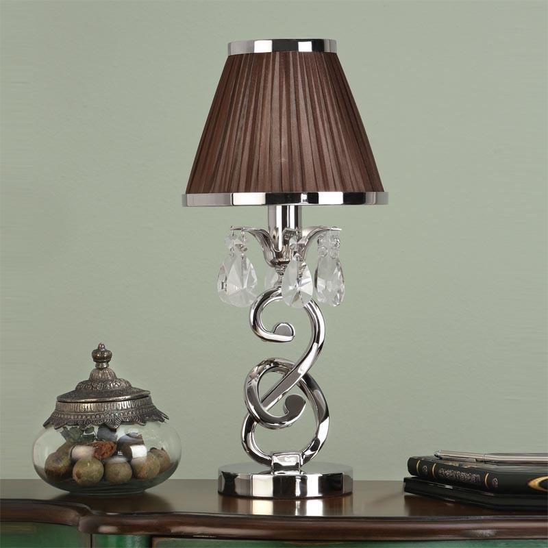 Interiors 1900 oksana base only 1 light mini table lamp polished