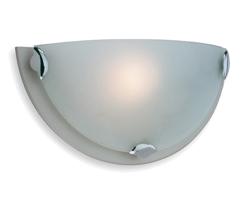 Firstlight Champagne Wall Light, Satin Steel Finish - W200SS None