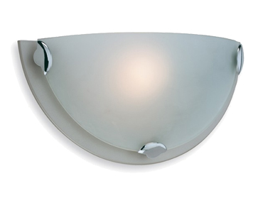 Firstlight Champagne Wall Light, Satin Steel Finish - W200SS