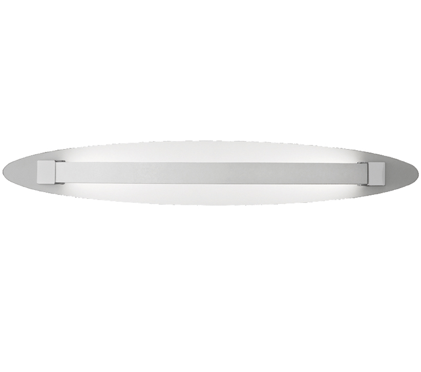 Small Chrome Wall Lights : Franklite Hollo LED Wall Light Ivory/Chrome (Small) - WB064 from Easy Lighting