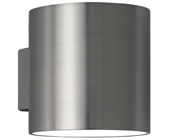 Franklite 1 Light Up & Down Wall Light, Satin Nickel Finish - WB066