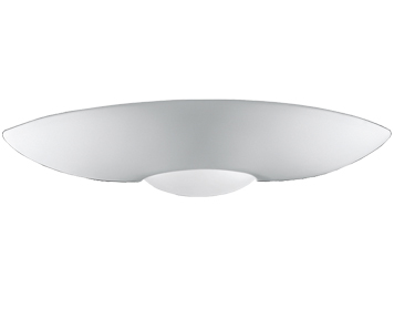 Franklite 2 Light Uplighter Wall Light, Paintable Ceramic Finish - WB585