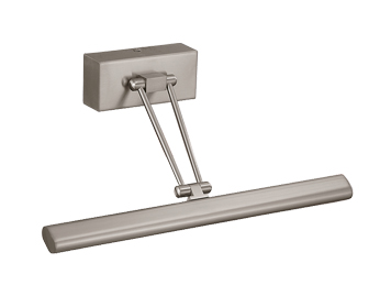 Franklite Picture Light (365mm) With Adjustable Arm, Satin Nickel Finish - WB910