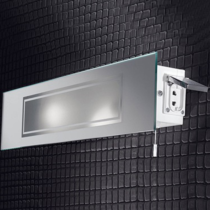 bathroom cabinets with lights and shaver socket franklite low energy mirrored ip44 bathroom wall 25915