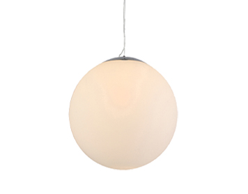 Azzardo White Ball 20 Pendant Light, Opal Glass Finish - AZ1325