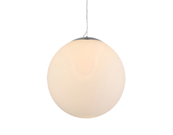 Azzardo White Ball 25 Pendant Light, Opal Glass Finish - AZ2515