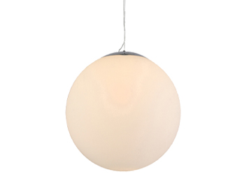 Azzardo White Ball 30 Pendant Light, Opal Glass Finish - AZ2516