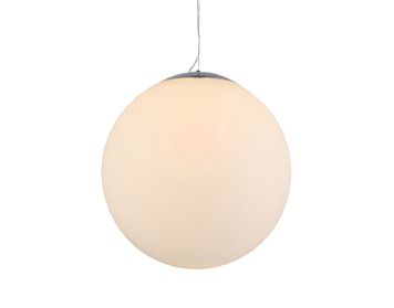 Azzardo White Ball 40 Pendant Light, Opal Glass Finish - AZ1328
