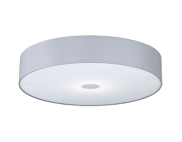 Wofi  Toulouse  Grey Lamp Shade   WOFI4134Fabric Flush Ceiling Lights from Easy Lighting. Flush Ceiling Light Shades. Home Design Ideas