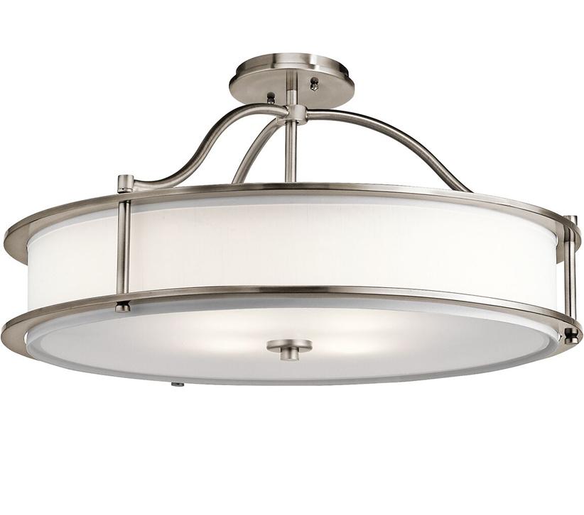 Dining Room Lighting Emory Collection Emory 3 Light: Elstead Kichler Emory 3 Light Pendant/Semi Flush, Classic