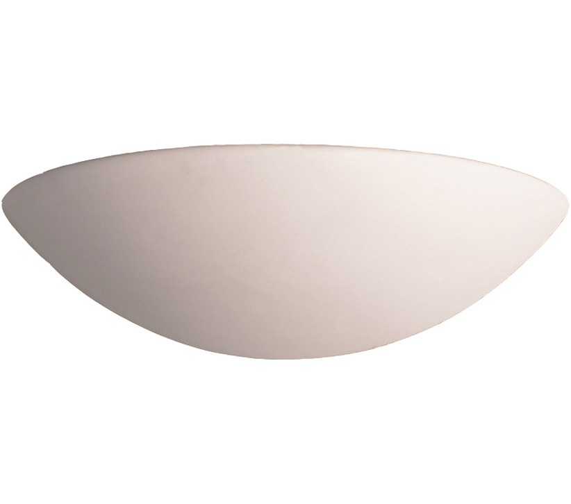 Firstlight Ceramic Wall Light, Unglazed Finish - C314UN None