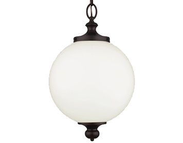 Elstead Feiss Parkman Large Pendant, Oil Rubbed Bronze - FE/PARKMAN/PL OB