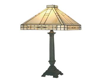 e495e9b10532 Oaks Lighting Ophelia Tiffany Table Lamp - OT 1849 16 TL