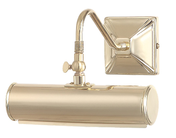 Elstead 1 Light Small Picture Light, Polished Brass - PL1/10 PB