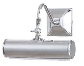Elstead 1 Light Small Picture Light, Polished Chrome Finish - PL1/10 PC
