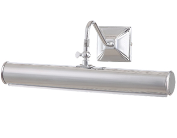 Elstead Medium Iron Picture Light, Polished Chrome - PL1/20 PC