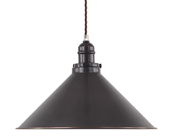 Elstead Provence 1 Light Pendant, Old Bronze - PV/SPOB
