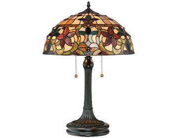Elstead Quoizel Kami Table Lamp, Tiffany Glass - QZ/KAMI/TL