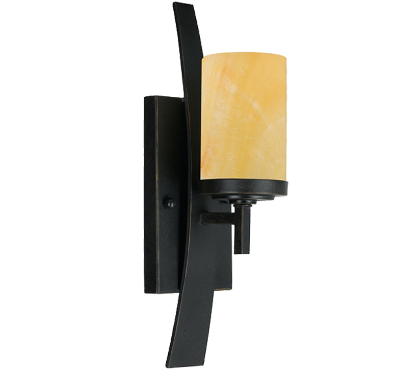 elstead quoizel kyle single wall light imperial bronze qz kyle1
